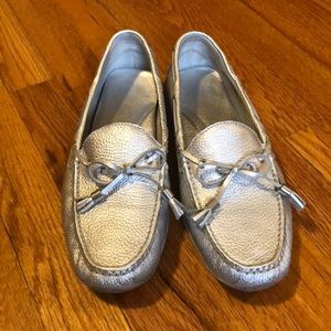 Cole Haan Silver Driver.